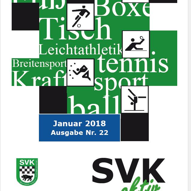 """""""SVK aktiv"""" Nr. 22 ist erschienen"""