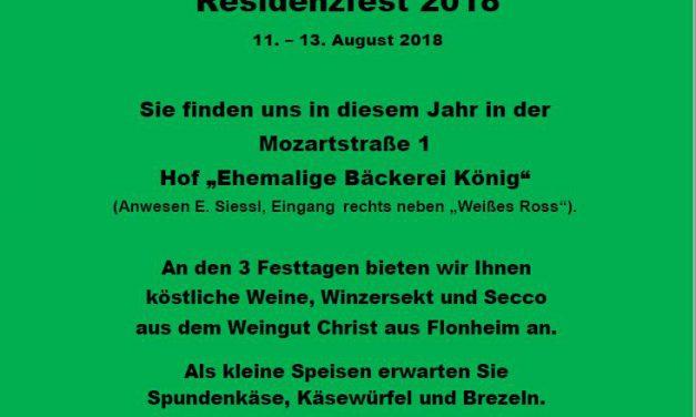 Neuer Residenzfest-Hof für SVK