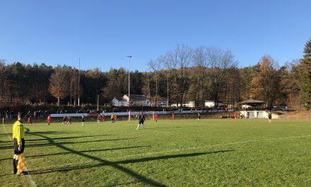 Niederlage in Queidersbach