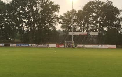 Bezirksliga: Spielabbruch nach fünf Minuten