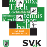 """""""SVK aktiv"""" Nr. 25 ist erschienen"""