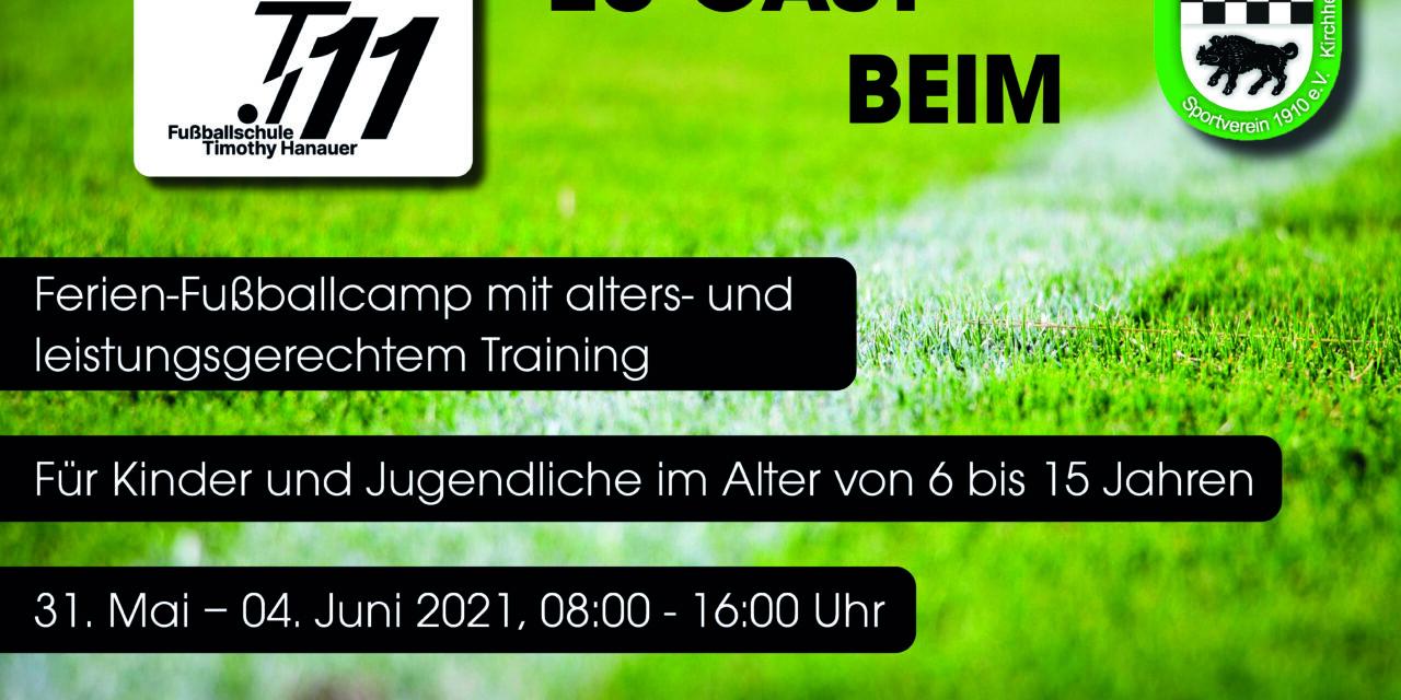 t11-Fußballschule zu Gast beim SVK!